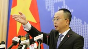 Phó phát ngôn Bộ Ngoại giao Việt Nam Đoàn Khắc Việt. Nguồn: VOV