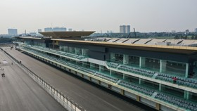 Hoàn thành 5.607m đường đua công thức 1 Hà Nội