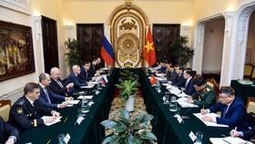 Quang cảnh Đối thoại chiến lược Ngoại giao - Quốc phòng - An ninh Việt Nam và Nga. Ảnh: TTXVN
