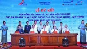 VietinBank và các ngân hàng hợp vốn ký kết hợp đồng tín dụng và các văn kiện tín dụng dự án giao thông huyết mạch của Đồng bằng Sông Cửu Long tháng 12/2019