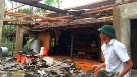 Tập trung giúp dân khắc phục hậu quả lốc xoáy ở Hà Tĩnh