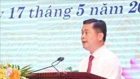 Bí thư Tỉnh ủy Nghệ An Thái Thanh Quý phát biểu tại Lễ kỷ niệm 130 năm Ngày sinh Chủ tịch Hồ Chí Minh. Ảnh:  TTXVN