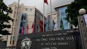 Xử lý kiến nghị xem xét lại kết luận thanh tra Trường Đại học Luật TPHCM