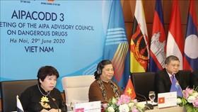 Phó Chủ tịch Thường trực Quốc hội Tòng Thị Phóng phát biểu khai mạc Hội nghị. Ảnh: TTXVN