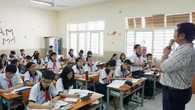 Học sinh lớp 9 Trường THCS Lữ Gia (quận 11) ôn tập trước kỳ thi tuyển sinh lớp 10