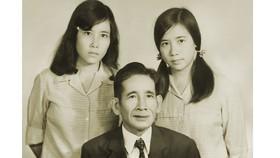 Đồng chí Phan Kiệm và 2 con gái