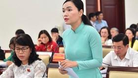 Kỳ họp thứ 20 HĐND TPHCM khóa IX diễn ra từ ngày 9 đến 11-7 đã thông qua nhiều nghị quyết liên quan đến những vấn đề cử tri quan tâm. Ảnh: VIỆT DŨNG
