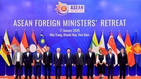 Bộ trưởng Ngoại giao của 10 nước ASEAN dự hội nghị cấp cao tại Nha Trang (Khánh Hòa, Việt Nam)