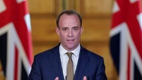Ngoại trưởng Anh Dominic Raab. Ảnh: MIRROR