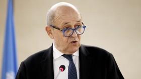 Ngoại trưởng Pháp Jean-Yves Le Drian. Nguồn: EPA/EFE