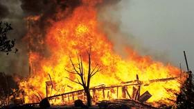 Biển lửa do cháy rừng ở bang California, Mỹ