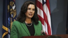Thống đốc bang Michigan Gretchen Whitmer. Ảnh: Chính quyền bang Michigan
