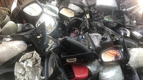 Triệt phá nhóm trộm gương ô tô