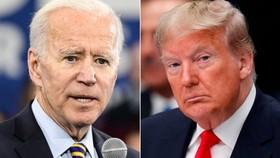 Hiện Tổng thống Donald Trump và ứng cử viên Joe Biden đang bám đuổi quyết liệt trước cuộc đua vào Nhà Trắng. Ảnh: CNN