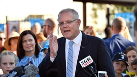 Thủ tướng Australia Scott Morrison. Nguồn: TTXVN