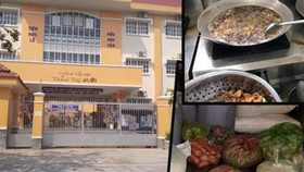 Trường Tiểu học Trần Thị Bưởi  chấn chỉnh bữa ăn bán trú