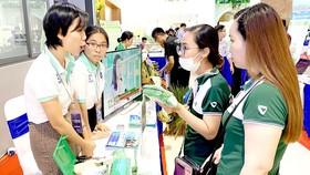Các hoạt động triển lãm tại Ngày hội Khởi nghiệp  đổi mới sáng tạo Đông Nam bộ 2020