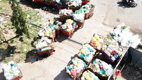 Tập trung cải tạo trạm trung chuyển rác thải