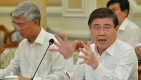 Chủ tịch UBND TPHCM Nguyễn Thành Phong vừa ký quyết định điều chỉnh phân công công tác Thường trực UBND TPHCM nhiệm kỳ 2016-2021