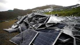 Lo ô nhiễm từ pin mặt trời hết hạn sử dụng