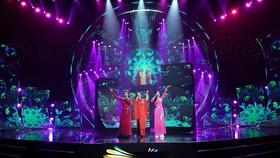 Rộn ràng sắc màu đón chào năm mới trên VTV