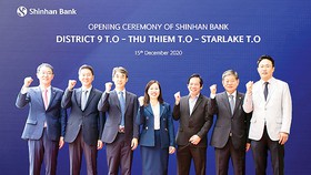 Ngân hàng Shinhan khai trương 3 phòng giao dịch ở TPHCM, Hà Nội