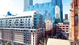 Khuôn viên khách sạn sang trọng Westin Melbourne