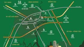 Nhiều dự án giao thông kết nối