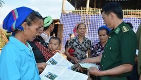 Nhiều hoạt động chăm lo bộ đội biên phòng tỉnh Bình Phước