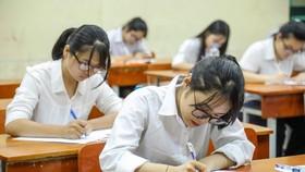 Học sinh tham dự kỳ thi THPT 2019. Ảnh: QUANG PHÚC