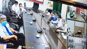 Các chuyên gia đầu ngành hội chẩn trực tuyến điều trị các ca bệnh Covid-19 nặng