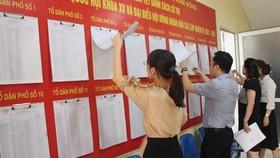 Người dân Khu tái định cư Long Hưng bầu cử thêm do có gian lận