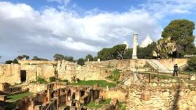 Một phần phế tích Carthage ngày nay