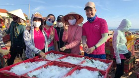 Quảng Bình: 18 tấn cá gửi bà con khu vực cách ly ở TPHCM