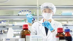 Phòng nghiên cứu vaccine tại Hàn Quốc