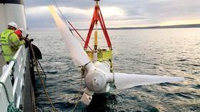 Lắp đặt turbine phát điện từ thủy triều tại eo biển Anh
