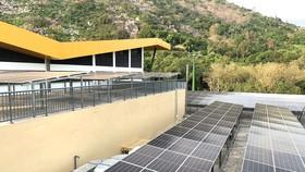 Một dự án điện năng lượng mặt trời do HRE thi công