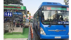 Xe buýt TPHCM đã được phép hoạt động trở lại và đang tăng dần số tuyến nhờ tình hình dịch bệnh có chuyển biến tích cực