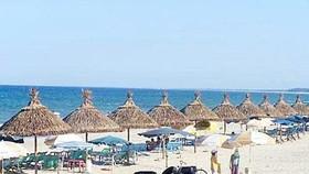 Một góc bãi biển Mỹ Khê. Ảnh: I.T