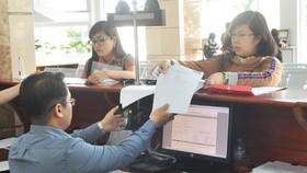 Doanh nghiệp khai báo thuế tại Cục Thuế