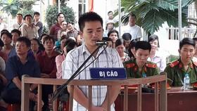 Bị cáo Trần Mạnh Thống tại tòa