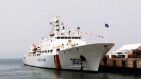 Tàu Badaro trong lần cập Cảng Tiên Sa hồi năm 2016