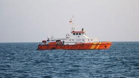 Chìm tàu cá, 5 thuyền viên được cứu nạn kịp thời
