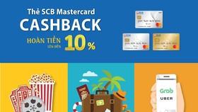 SCB hoàn tiền đến 10% tất cả giao dịch khi thanh toán bằng Thẻ Quốc tế SCB Mastercard Cashback
