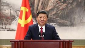 Ông Tập Cận Bình được bầu làm Tổng Bí thư Ban Chấp hành Trung ương Đảng Cộng sản Trung Quốc khóa 19. Ảnh: THX
