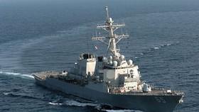 Tàu chiến Mỹ va chạm với tàu kéo Nhật Bản trong cuộc diễn tập chung