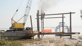Tháng 4-2018, đưa vào khai thác bến phà Cần Giờ - Cần Giuộc