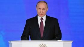 Tổng thống Nga Vladimir Putin đọc Thông điệp liên bang