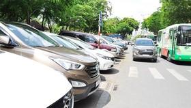 Công khai nguồn thu phí dừng đậu ô tô