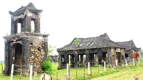 Nguy cơ đền Phú Sơn thành phế tích